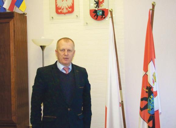 Nowy, dotychczasowy starosta KRZYSZTOF FEDORCZYK rozpoczął kadencję 2014-2018