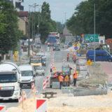 Remont ul. Kościuszki – od 7 lipca jeden kierunek ruchu od ronda ul. Warszawska do ronda ul. Sowińskiego